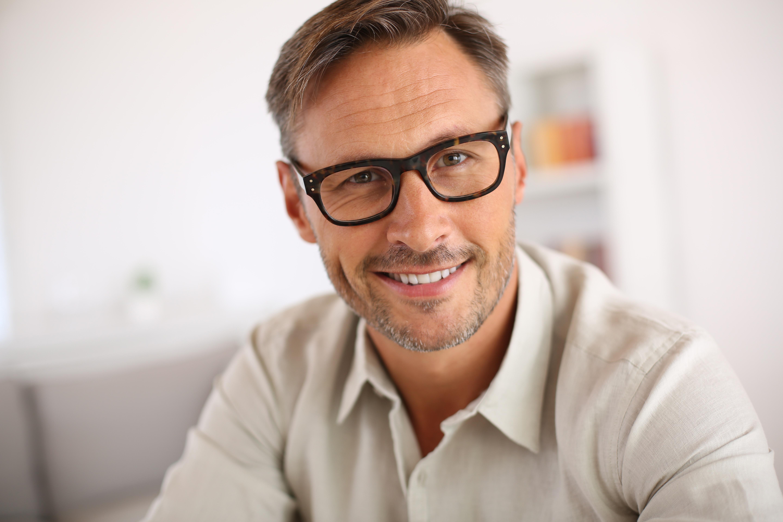 man with eyeglasses